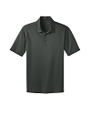 SwimSafe-Port Authority® Silk Touch™ Performance Polo in Steel Grey
