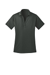 SwimSafe-Port Authority® Ladies Silk Touch™ Performance Polo in Steel Grey