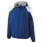 Holloway Homefield Jacket in Royal/White-Mariemont Baseball