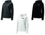 CHCA Softball-Ladies Sport-Tek® Rival Tech Fleece Full-Zip Hooded Jacket