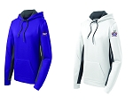 CHCA Softball-Ladies Sport-Tek® Sport-Wick® Fleece Colorblock Hooded Pullover