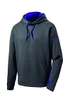 CHCA Softball-Unisex Sport-Tek® Sport-Wick® Fleece Colorblock Hooded Pullover