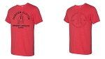 Fairview-Tultex Heather Red T-Shirt-Unisex/Women's/Youth