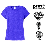 Ladies Perfect Tri® Crew Tee by District Made®-PRM