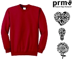 Youth Crew Neck Sweatshirt by Port & Company-PRM
