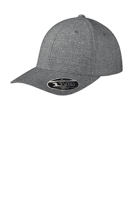 Flexfit 110 ® Performance Snapback Cap in Heather Grey by Port Authority ®-Adult Only-Miami Hills Swim & Dive