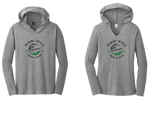 2021 Perfect Tri ® Long Sleeve Hoodie-Miami Hills Swim & Dive