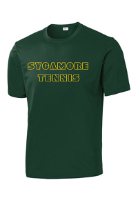 PosiCharge® Competitor™ Tee in Forest Green by Sport-Tek® (YOUTH & ADULT) -SJHS Tennis