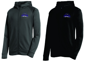 CHCA Softball-Sport-Tek® Rival Tech Fleece Full-Zip Hooded Jacket