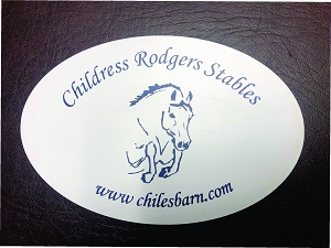 Car Magnet- Childress Rodgers Stables
