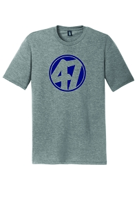 FourSeven-Unisex District ® Perfect Tri ® Tee in Grey Frost