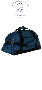 Duffle Bag in Navy-Childress Rodgers Stables