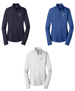 Ladies PosiCharge 1/2-Zip Pullover by Sport-Tek®-Childress Rodgers Stables