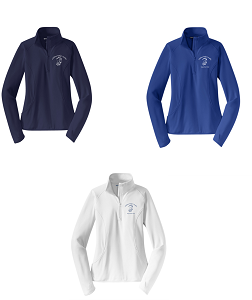 Ladies Sport-Wick® Stretch 1/2-Zip Pullover by Sport-Tek®-Childress Rodgers Stables