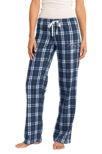 Women's Flannel Pant in True Navy by District-Childress Rodgers Stables