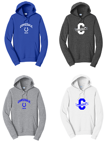 Hooded Sweatshirt by Port & Company-Unisex & Youth-Covedale Elementary