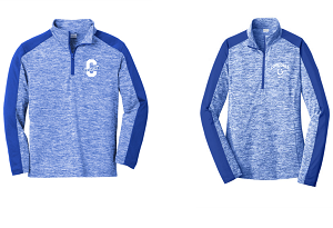 1/4-Zip Pullover in True Royal Electric/True Royal by Sport-Tek-Covedale Elementary