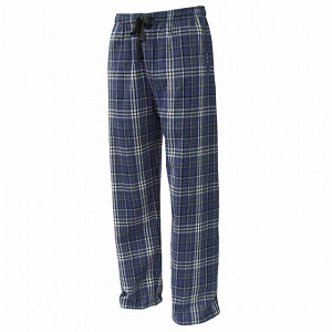Navy & White Flannel Pants by Pennant-Youth/Adult-John Paul II