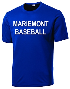 Mariemont Baseball-Sport-Tek® PosiCharge® Competitor™ Tee in Royal