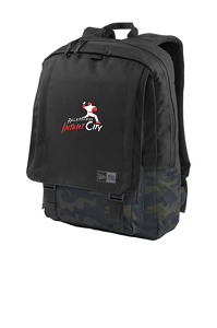 Legacy Rucksack in Black Twill Heather/Black by New Era ®-IntentCity Athletics