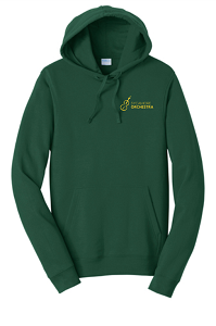 Hooded Sweatshirt in Forest-SHS Orchestra