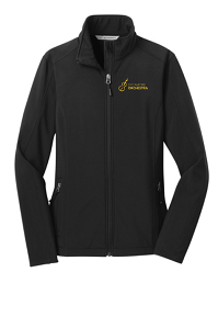 Women's Core Soft Shell Jacket in Black by Port Authority®-SHS Orchestra