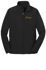 Core Soft Shell Jacket in Black by Port Authority®-SHS Orchestra