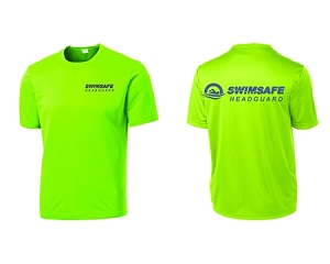 SwimSafe-Sport-Tek® PosiCharge® Competitor™ Tee for Headguard