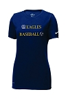 WH Baseball- Nike Women's Dri-FIT Cotton/Poly Tee