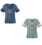 WH Baseball-Alternative Women's Varsity Vintage 50/50 Tee