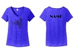 WOMO-District ® Women's Perfect Tri ®  V-Neck Tee